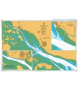 British Admiralty Nautical Chart 3755 Bahia Blanca
