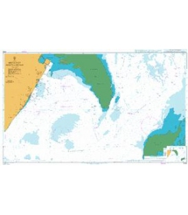British Admiralty Nautical Chart 3783 Mesaieed (Musay`id or Umm Said)