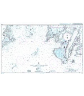 British Admiralty Nautical Chart 3809 Tagolo Point to Cuyo Islands including Cebu- Negros and parts of Panay and Palawan