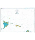 British Admiralty Nautical Chart 3914 Caicos Passage and Mayaguana Passage