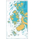 British Admiralty Nautical Chart 3928 Approaches to Mokp'o