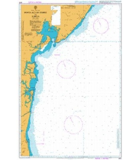 British Admiralty Nautical Chart 3975 Ponta Acu da Torre to Ilheus