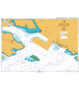 British Admiralty Nautical Chart 4034 East Jurong Channel, Pasir Panjang Terminal and West Keppel Fairway