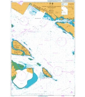 British Admiralty Nautical Chart 4035 Western Anchorages, Jong Fairway and Cruise Bay