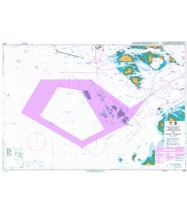 British Admiralty Nautical Chart 4039 Western Approaches to Main Strait
