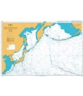 British Admiralty Nautical Chart 4053 North Pacific Ocean Northwestern Part