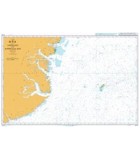 British Admiralty Nautical Chart 4113 Greenland and Norwegian Seas