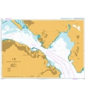 British Admiralty Nautical Chart 4117 Harbour,  Eastern Part