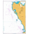 British Admiralty Nautical Chart 4146 Cape Columbine to Table Bay