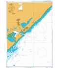 British Admiralty Nautical Chart 4173 Approaches to Richards Bay