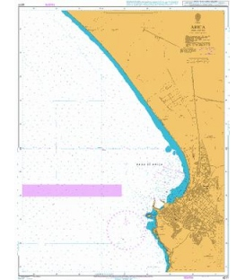 British Admiralty Nautical Chart 4217 Arica