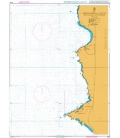 British Admiralty Nautical Chart 4222 Approaches to Caletas Patillos and Patache