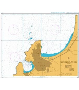 British Admiralty Nautical Chart 4237 Bahia Coquimbo and Bahia Herradura Guayacan