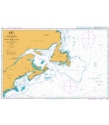 British Admiralty Nautical Chart 4404 Gulf of Maine to Strait of Belle Isle including Gulf of St. Lawrence