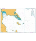 British Admiralty Nautical Chart 4476 Leyte Gulf and Approaches