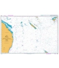 British Admiralty Nautical Chart 4602 Tasman and Coral Seas Australia to Northern New Zealandand Fiji