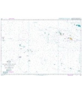 British Admiralty Nautical Chart 4657 Southern Cook Islands to Iles de la Societe and Iles Australes
