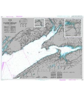 British Admiralty Nautical Chart 4745 Bay of Fundy/Baie de Fundy - Inner Portion/Partie Interieure