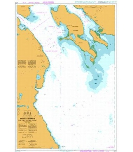 British Admiralty Nautical Chart 4753 Halifax Harbour Black Point To/A Point Pleasant