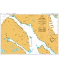 British Admiralty Nautical Chart 4754 Halifax Harbour Point Pleasant to/A Bedford Basin