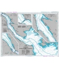 British Admiralty Nautical Chart 4758 Strait of Canso