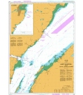 British Admiralty Nautical Chart 4782 Ile du bic au/to Cap de la Tete au Chien