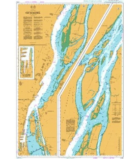 British Admiralty Nautical Chart 4792 Port de Montreal