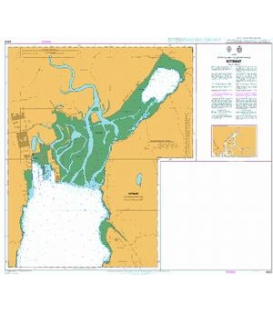 British Admiralty Nautical Chart 4931 Kitimat and Kemano Bay