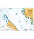 British Admiralty Nautical Chart 4936 Approaches to / Approches a Prince Rupert Harbour