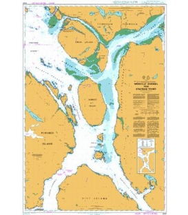 British Admiralty Nautical Chart 4940 Grenville Channel to/A Chatham Sound