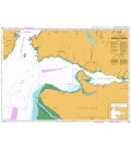 British Admiralty Nautical Chart 4962 Approaches to/Approches a Vancouver Harbour