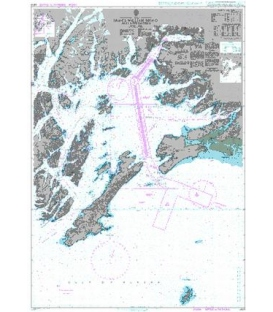 British Admiralty Nautical Chart 4979 Prince William Sound and Approaches