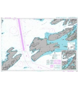 British Admiralty Nautical Chart 4980 Prince William Sound Eastern Entrance