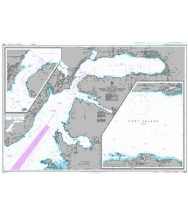 British Admiralty Nautical Chart 4982 Prince William Sound - Valdez Arm and Port Valdez