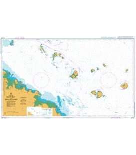 British Admiralty Australian Nautical Chart AUS251 Bailey Islet to Repulse Islands