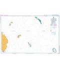 British Admiralty Australian Nautical Chart AUS398 Tulun Islands to Tanga Islands