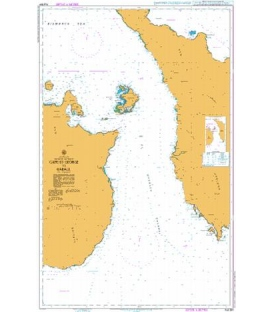 British Admiralty Australian Nautical Chart AUS554 Cape St George to Rabaul