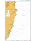 British Admiralty Australian Nautical Chart AUS811 Crowdy Head To Nambucca Heads