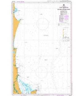 British Admiralty Australian Nautical Chart AUS815 Cape Moreton to Double Island Point