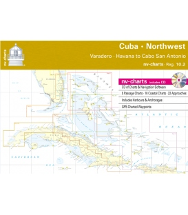 Region 10.2: Cuba Northwest, Varadero, Habanna to Cabo San Antonio, 2015/16 Edition