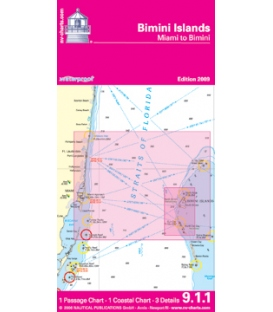 NV-Charts Waterproof 9.1.1: Bimini Islands (Miami to Bimini), 2009 Ed.