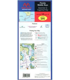 Maptech - Florida: Middle Keys--Tavernier to Sugarloaf Key Waterproof Chart