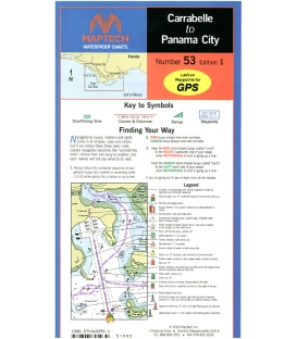 Maptech - Carrabelle to Panama City Waterproof Chart