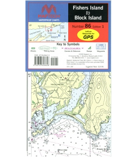 Maptech - Fishers Island to Block Island Waterproof Chart