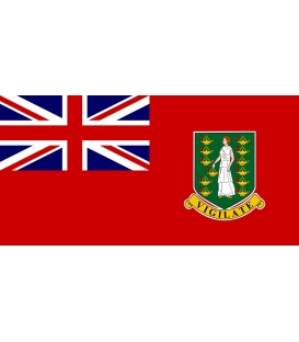 British Virgin Islands Red Ensign, Courtesy Flag