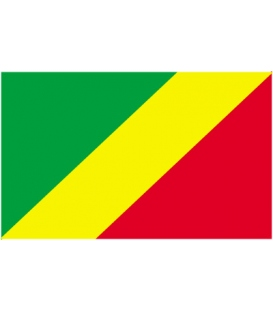 Congo Courtesy Flag
