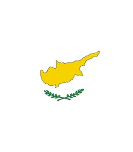 Cyprus Courtesy Flag
