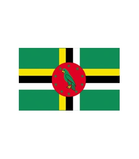 Dominica Courtesy Flag