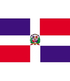 Dominican Republic Courtesy Flag (Civil)