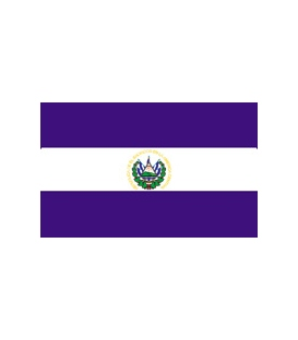 El Salvador Courtesy Flag (Civil)